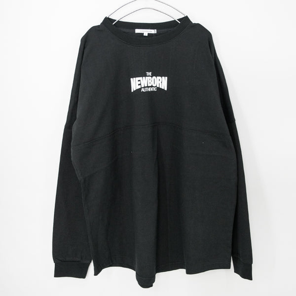 2Tone Color Back Big Logo Mens L/S Top (2 color)