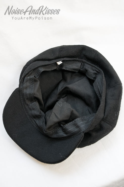 Felt Casket Hat (Black)