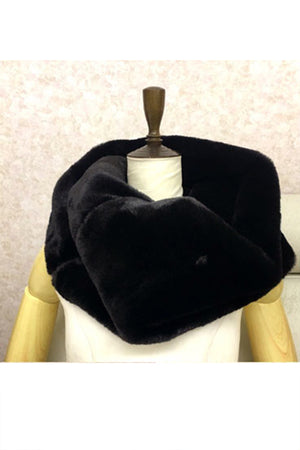 Big Fur Snood (Black)