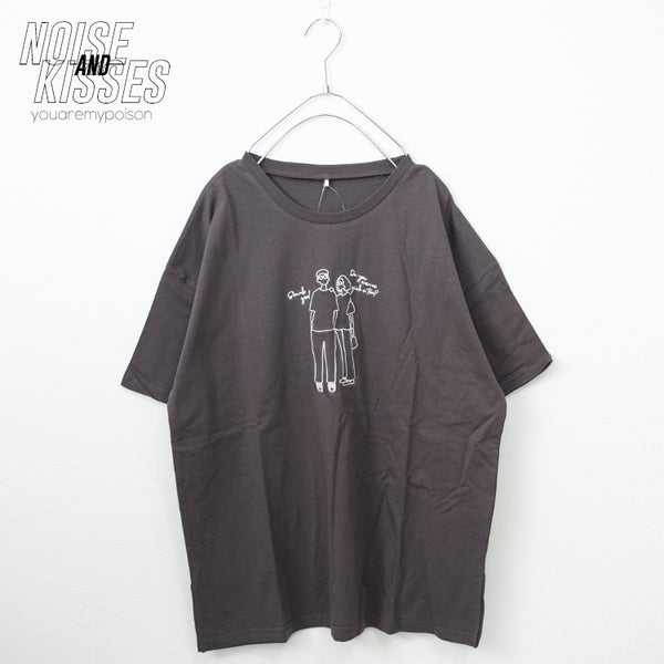 Boy And Girl Embroidery S/S T-shirt (3 color)