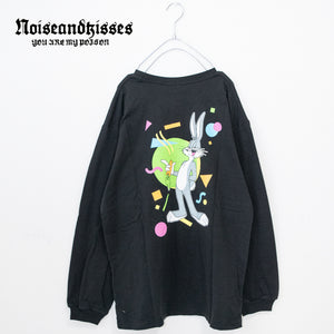 BUGS BUNNY Back Print L/S T-shirt (2 color)