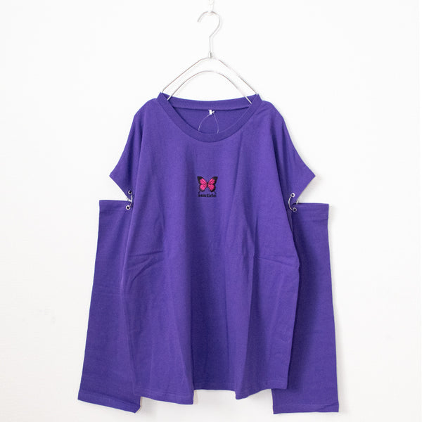 Butterfly Ring Joint Sleeve L/S T-shirt (4 color)