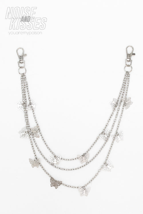 Butterfly Chain (Silver)