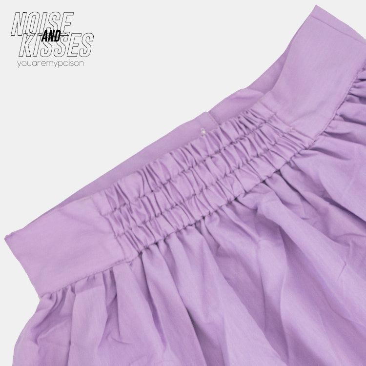 Front Button Flare Long Skirt (2 color)