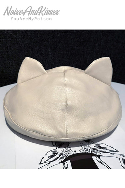 Cat Ear Beret Hat (2 color)