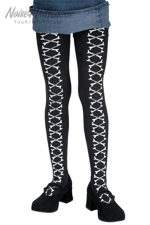Cross Bone Stocking (Black)
