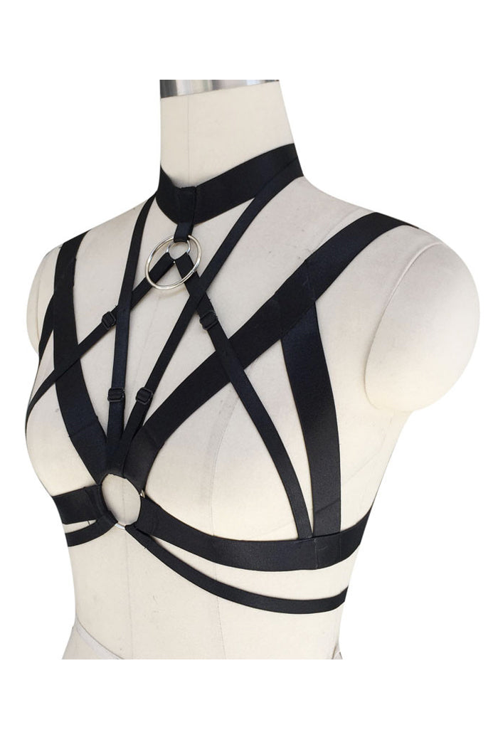 Cross Rings Harness (Silver)