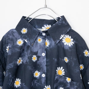 Gradation Daisy S/S Shirt (Black)