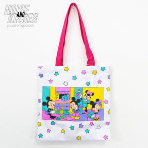 Disney Official Color Tote Bag (Mooning Routine)