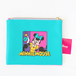 Disney Minnie Mouse Flat Pouch 'Morning Routine'