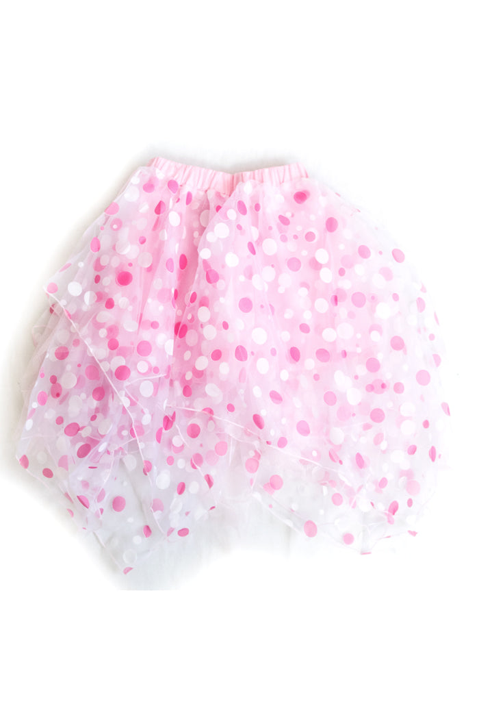 ACDC RAG Dot Tulle Volume Skirt (Pink)