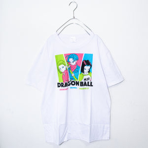 Dragon Ball Trunks & Android 17 & Android 18 S/S T-shirt (White)
