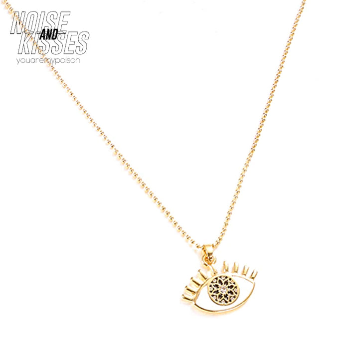 Eye Necklace (Gold)