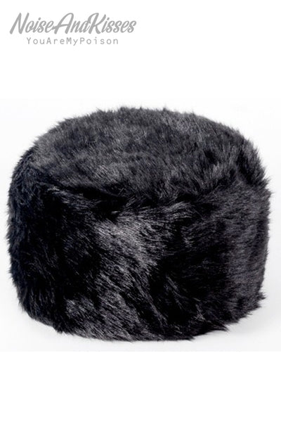Fake Fur Hat (2 Colors)