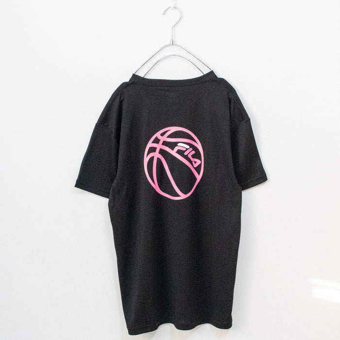 FILA Basketball Crew Neck S/S T-shirt (Black)