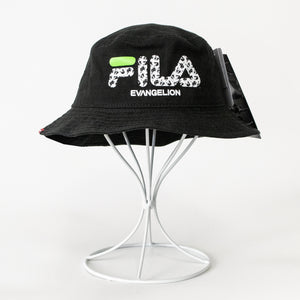 RADIO EVA x FILA Monogram Logo Bucket Hat EVANGELION LIMITED (2 color)