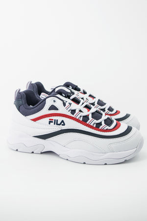 FILA FILARAY Sneaker (White/Navy/Red)