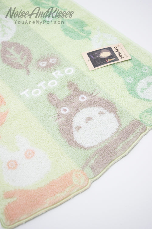 My Neighbor Totoro Face Towel (Tree leaf road)