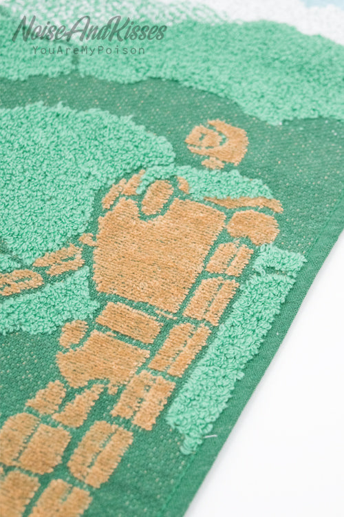 Castle in the Sky Face Towel (Garden guardian)