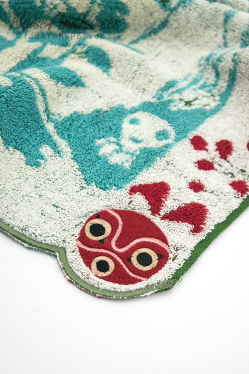 Princess Mononoke Face Towel (Shishigami and Sun)