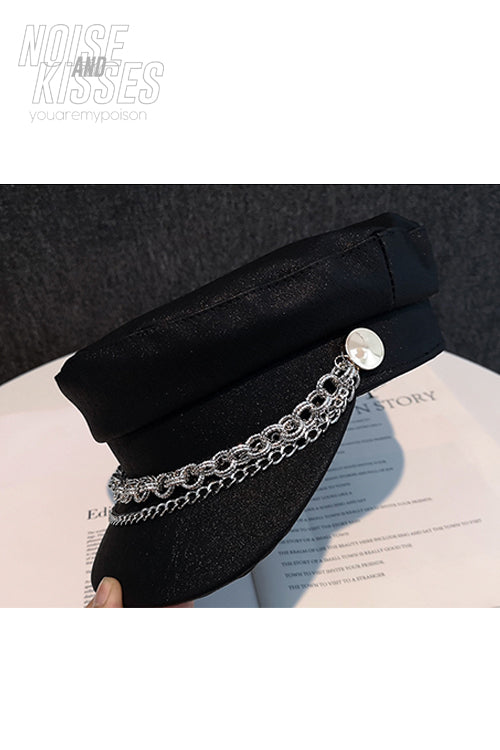 Glitter Chain Hat (2 color)