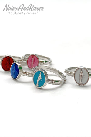 Guadalupe Color Medal Ring (5 color)