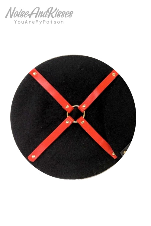 Harness Beret (Red)