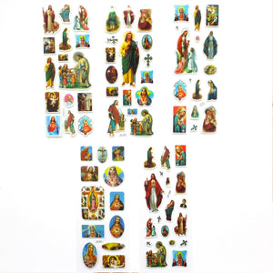 Jesus Saint Soft Sticker (6 type)