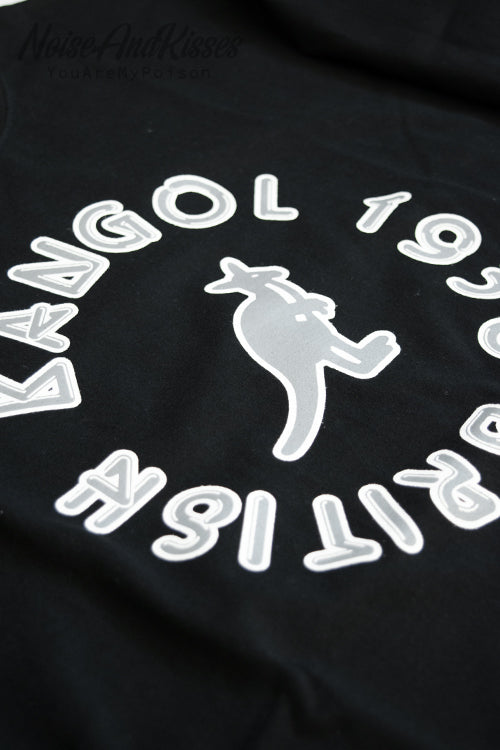KANGOL Music Circle L/S T-Shirt (Black)