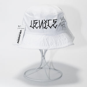 7UNION × ERIC DRESSEN Collaboration Bucket Hat (White)