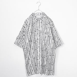 Character Stripe S/S Shirt (White)