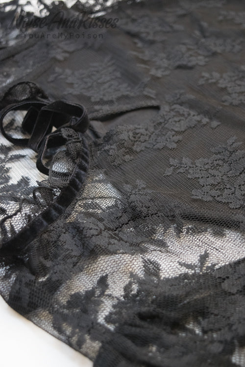 Lace Ensemble Set (Black)