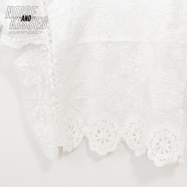 Ethnic Lace Top (2 color)