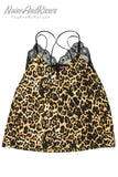 ACDC RAG Leopard Back Cross Camisole Top