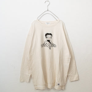 BETTY BOOP L/S T-shirt (2 color)