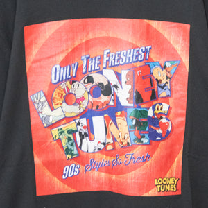 Looney Tunes Box Logo Print S/S T-shirt (Black)