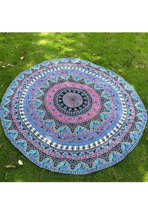 Round Beach Sheet (Mandala-I) - YOU ARE MY POISON