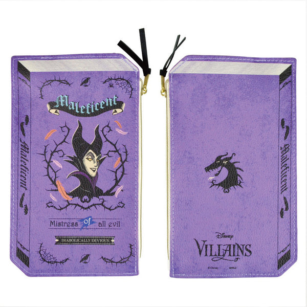 Disney Villans 2D Book Pouch (Maleficent)