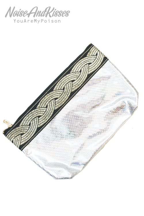 Hologram Medium Pouch (Silver)
