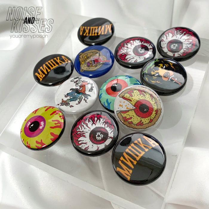 MISHKA Can Badge Set