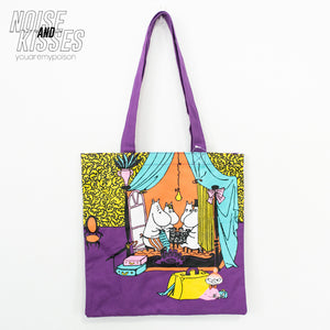 Moomin Official Color Tote Bag (At the Hotel)