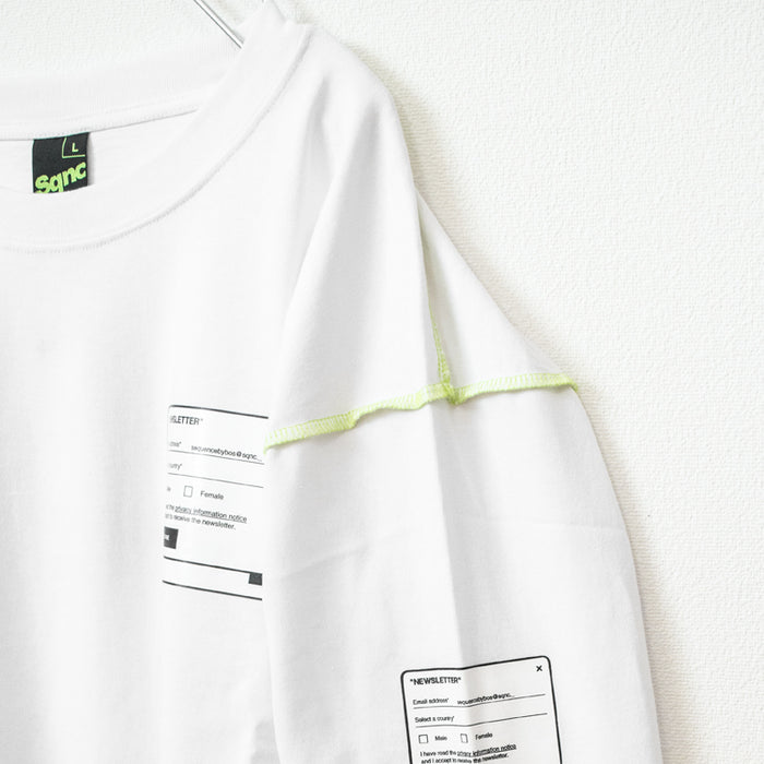 Newsletter Form Mens L/S Top (2 Color)
