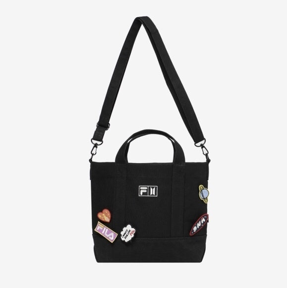 BTS x FILA Love Yourself DNA Tote Bag (2 color)