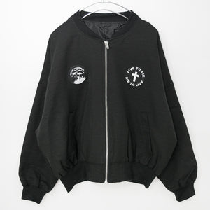 Patch Ladies MA-1 Jacket (Alien)