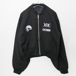 Patch Ladies MA-1 Jacket (Wolf)