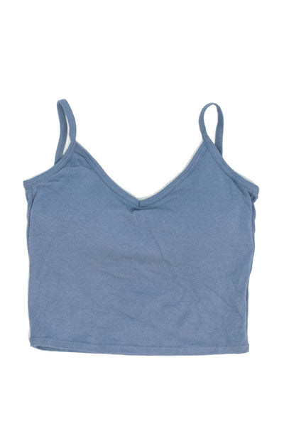 Back Open Camisole Top w/Pad (3 Colors)