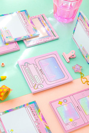 Pastel PC Window Memo Pad (4 Types)