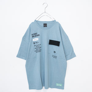 Flap Pocket S/S T-shirt (3 color)