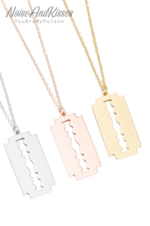 Razor Necklace (3 colors)