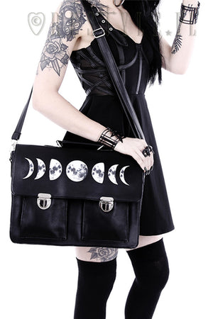 RESTYLE MOON CYCLE SATCHEL - YOU ARE MY POISON